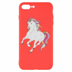 Чохол для iPhone 8 Plus Red eye unicorn