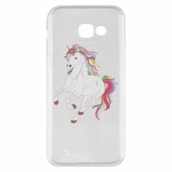 Чохол для Samsung A5 2017 Red eye unicorn