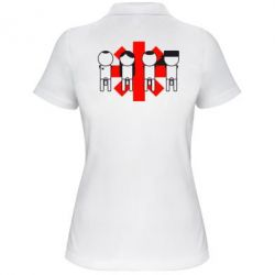 Женская футболка поло Red Hot Chili Peppers Group - FatLine