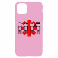Чохол для iPhone 11 Pro Max Red Hot Chili Peppers Group