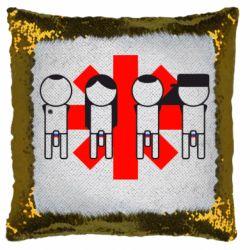 Подушка-хамелеон Red Hot Chili Peppers Group