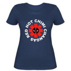 Женская футболка Red Hot Chimi Changas