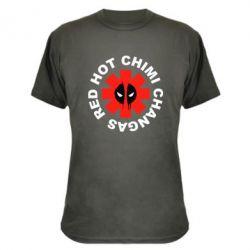 Камуфляжная футболка Red Hot Chimi Changas