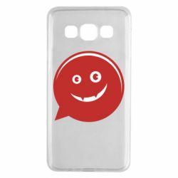 Чехол для Samsung A3 2015 Red smile