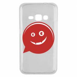 Чехол для Samsung J1 2016 Red smile
