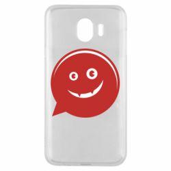 Чехол для Samsung J4 Red smile