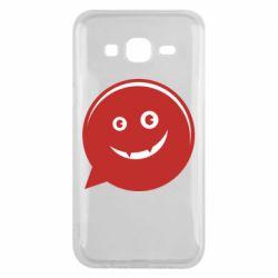 Чехол для Samsung J5 2015 Red smile