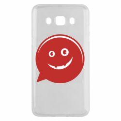 Чехол для Samsung J5 2016 Red smile
