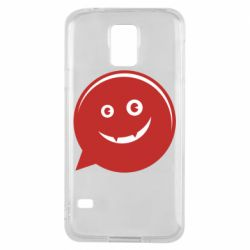 Чехол для Samsung S5 Red smile