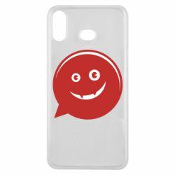 Чехол для Samsung A6s Red smile