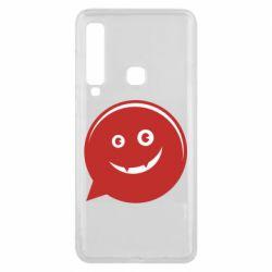 Чехол для Samsung A9 2018 Red smile