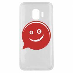 Чехол для Samsung J2 Core Red smile