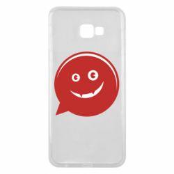 Чехол для Samsung J4 Plus 2018 Red smile
