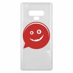 Чехол для Samsung Note 9 Red smile