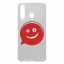 Чехол для Samsung A60 Red smile
