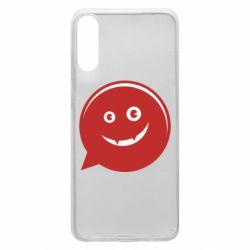Чехол для Samsung A70 Red smile