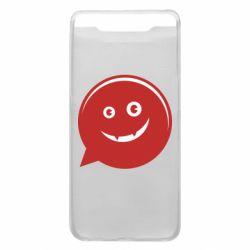 Чехол для Samsung A80 Red smile