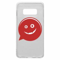 Чехол для Samsung S10e Red smile