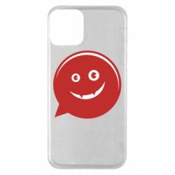Чехол для iPhone 11 Red smile