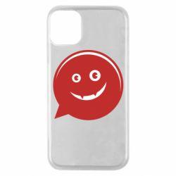 Чехол для iPhone 11 Pro Red smile