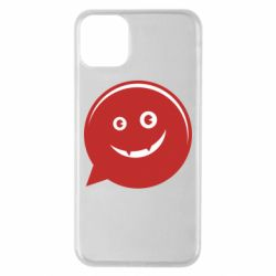 Чехол для iPhone 11 Pro Max Red smile