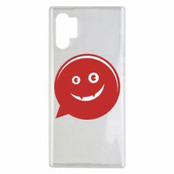 Чехол для Samsung Note 10 Plus Red smile