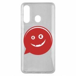 Чехол для Samsung M40 Red smile