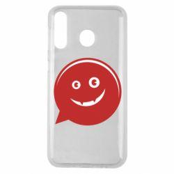 Чехол для Samsung M30 Red smile