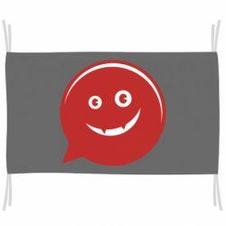 Флаг Red smile