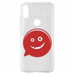 Чехол для Xiaomi Mi Play Red smile