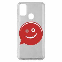 Чехол для Samsung M30s Red smile