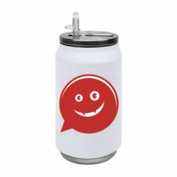 Термобанка 350ml Red smile