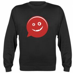 Реглан (свитшот) Red smile