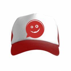 Детская кепка-тракер Red smile