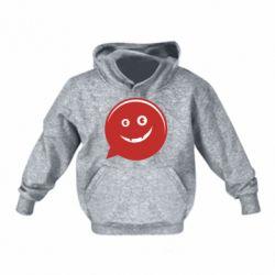 Детская толстовка Red smile