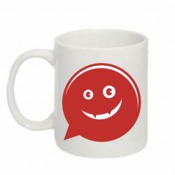 Кружка 320ml Red smile