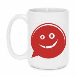 Кружка 420ml Red smile