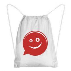 Рюкзак-мешок Red smile