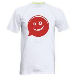 Мужская спортивная футболка Red smile