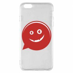 Чехол для iPhone 6 Plus/6S Plus Red smile