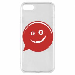 Чехол для iPhone 7 Red smile