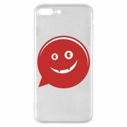 Чехол для iPhone 7 Plus Red smile