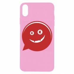 Чехол для iPhone X/Xs Red smile