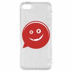 Чехол для iPhone5/5S/SE Red smile