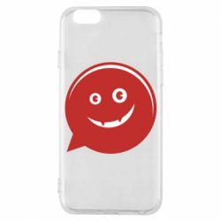 Чехол для iPhone 6/6S Red smile