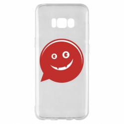 Чехол для Samsung S8+ Red smile