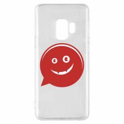 Чехол для Samsung S9 Red smile