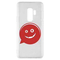 Чехол для Samsung S9+ Red smile