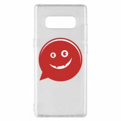 Чехол для Samsung Note 8 Red smile