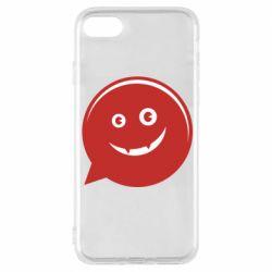 Чехол для iPhone 8 Red smile